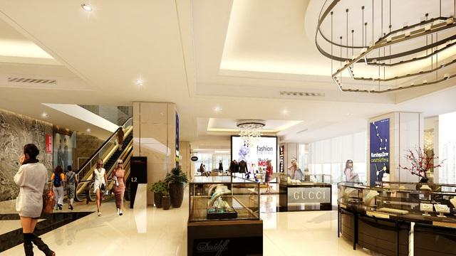 Trung tâm thương mại tầm cỡ bậc nhất phía Tây Hà Nội.