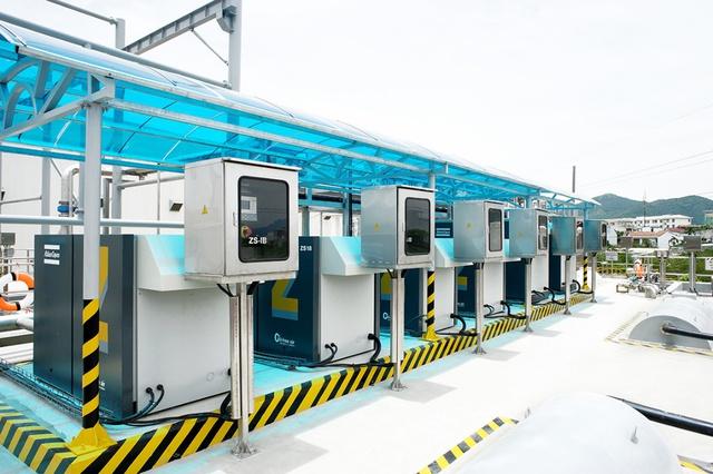 Hệ thống xử lý nước thải được nâng cấp có công suất thiết kế là 1.000 m3/ngày đêm (có thể nâng cấp lên 1.500 m3/ngày đêm).