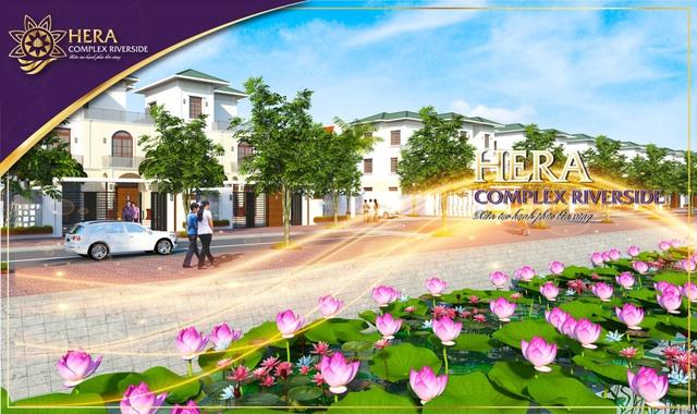 Ảnh phối cảnh khu đô thị Hera Complex Riverside.