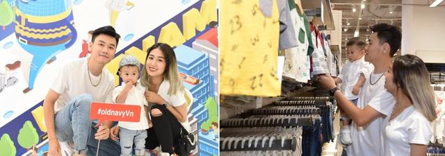 Góp mặt ở sự kiện còn có những gia đình khách mời đang hot trên mạng xã hội hiện nay: Trang Lou – Tùng Sơn – bé Xoài. Cả nhà cùng diện trang phục tông xuyệt tông trẻ trung, nhí nhảnh.