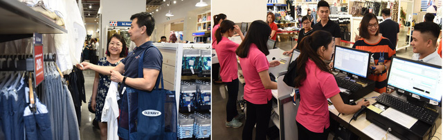 Giờ đây người tiêu dùng Hà Nội đã có thêm một thương hiệu thời trang chính hãng để lựa chọn nhằm làm mới phong cách cho gia đình mình mà không phải ra nước ngoài mua sắm hoặc chịu ship online với giá cao.