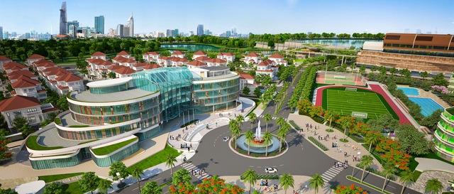 Thị trường bất động sản hạng sang sôi động lên trong 3 năm trở lại đây. Trong ảnh khu đô thị kiểu mẫu Sala tại TP HCM.