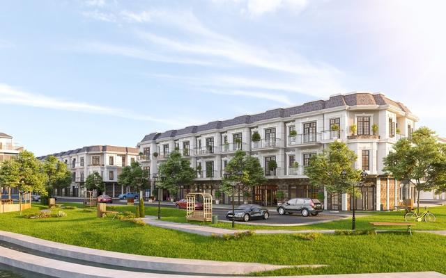 Nhà phố tại SIMCity được thiết kế tinh tế, sang trọng với không gian mang phong cách Châu Âu cổ điển bán sạch 150 căn chỉ trong 30 phút mang về doanh thu hơn 450 tỷ đồng.