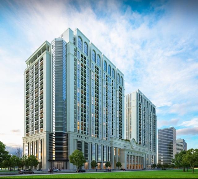 Roman Plaza có mật độ xây dựng với tỷ lệ thấp: Chỉ khoảng 870 hộ trên diện tích gần 4ha.