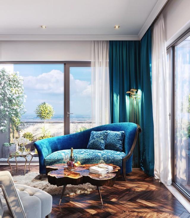 Bên trong những căn biệt thự, chủ nhân vẫn có thể thể hiện cá tính với phong cách thiết kế đương đại hay kiến tạo nên những không gian đậm màu Neo Classic.