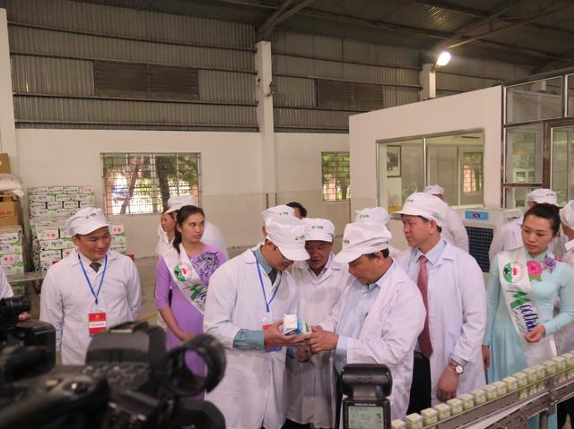 Thủ tướng thăm sữa Mộc Châu.