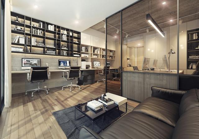 Không gian hiện đại tại Office-tel Lancaster Lincoln.