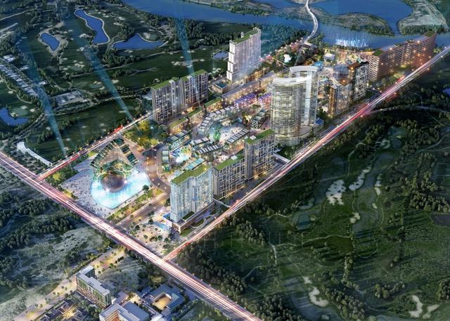 Tổ hợp du lịch và giải trí Cocobay Đà Nẵng.