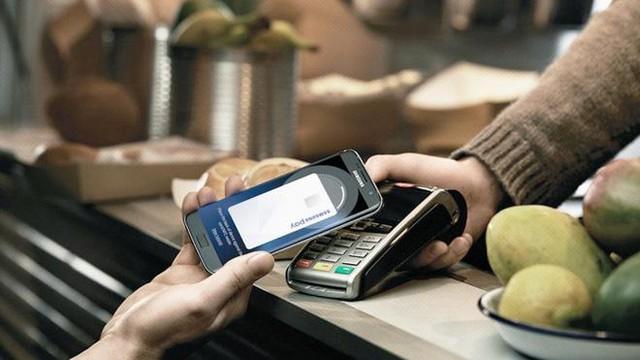Samsung Pay không đòi hỏi tiếp xúc vật lý, dữ liệu gửi đi được mã hóa.