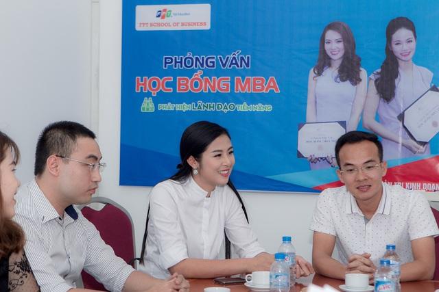 Hoa hậu Ngọc Hân cũng là một trong những ứng viên xuất sắc của kỳ học bổng tháng 5/2017 của FSB.