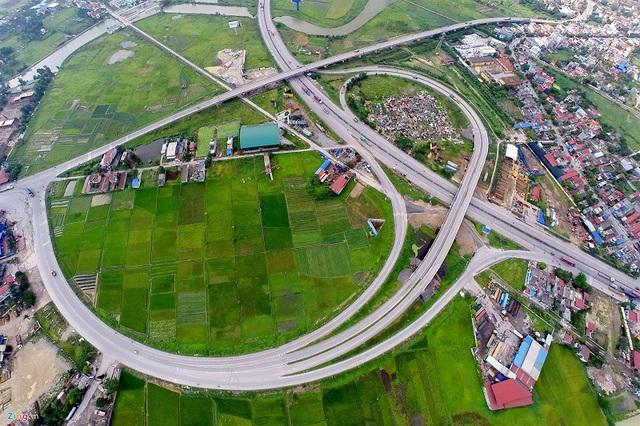 Cao tốc Hà Nội – Hải Phòng (Ảnh: Vietnam+).