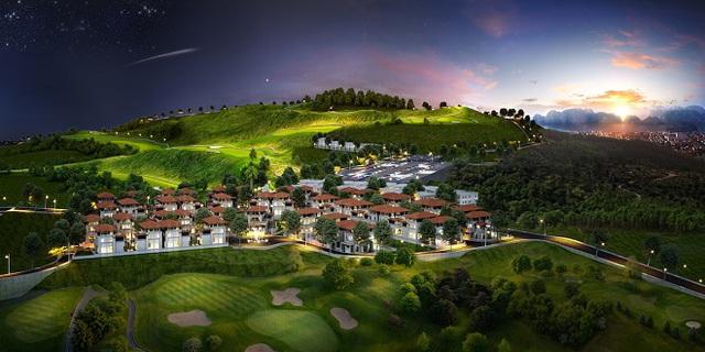 Quần thể du lịch nghỉ dưỡng FLC Halong Bay Golf Club and Luxury Resort.