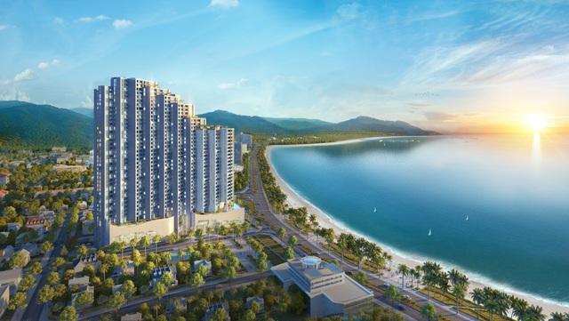 Phối cảnh Scenia Bay bên Vịnh Nha Trang.