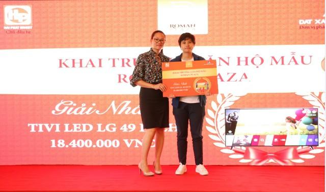 Giải thưởng Tivi Led LG trị giá 18.400.000Đ đã tìm được chủ nhân.