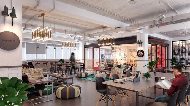 Không gian làm việc chia sẻ Dreamplex sẽ là giải pháp hoàn hảo cho Officetel.