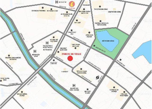 Vị trí trung tâm với kết nối vùng thuận tiện đến các tiện ích giáo dục, y tế, giải trí trong khu vực.