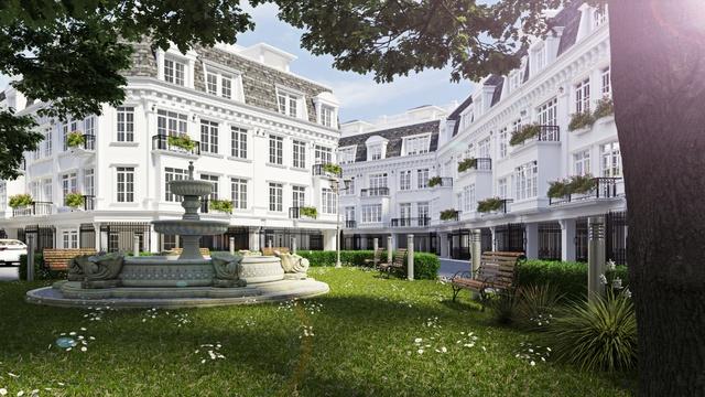 Không gian sống thanh bình, trong lành tại nhà phố Porte De Ville Trúc Khê.