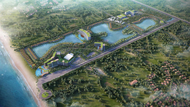 Dự án do Tập đoàn MIK Group và Movenpick Thuỵ Sỹ hợp tác dự kiến triển khai tại Bãi biển Ông Lang.