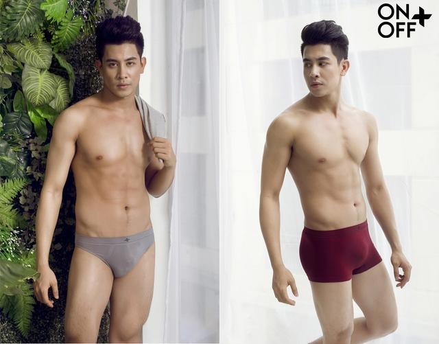 Quần lót nam đa dạng về kiểu dáng (Dáng quần Brief- Ảnh bên trái, dáng quần Trunk - Ảnh bên phải).