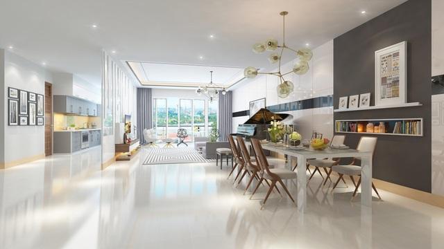 400 căn hộ khách sạn được thiết kế mang đậm phong cách Mỹ phóng khoáng, hiện đại.
