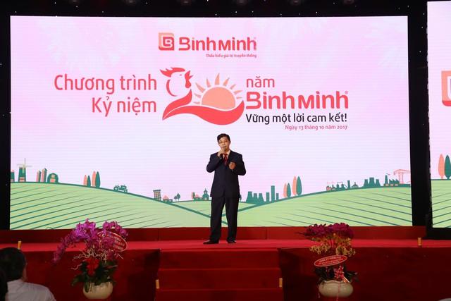 Ông Dương Anh Tuấn _TGĐ Bình Minh chia sẻ về 20 năm hoạt động và phát triển.