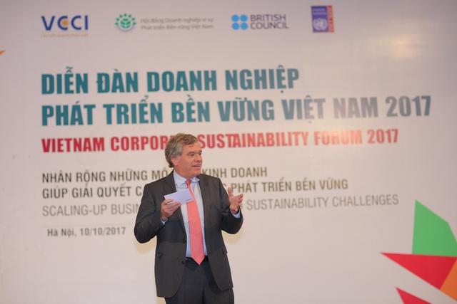 Ông Leo Evers - Tổng giám đốc Điều hành HEINEKEN Việt Nam.