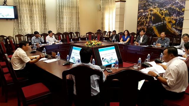 Toàn cảnh buổi làm việc giữa lãnh đạo tỉnh và công ty NTD.