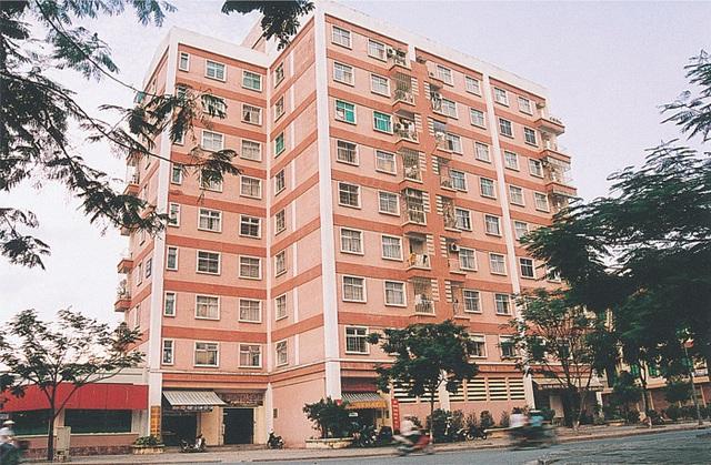 Khu nhà ở cao tầng đầu tiên của thủ đô tại Định Công mà Thành Nam đã tham gia thi công.