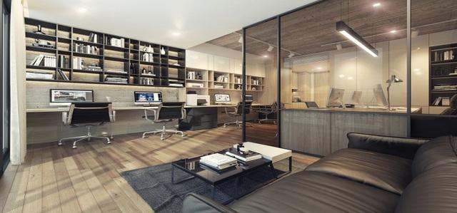 Officetel Lancaster Lincoln tích hợp công năng vừa ở vừa làm việc kèm không gian hội họp chung Dreamplex.