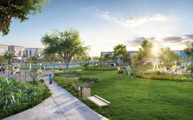 Lovera Park là dự án tại khu nam có đến 5ha công viên cây xanh.
