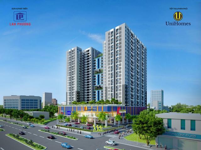 Dự án nằm tại trung tâm Thủ Đức, kết nối tốt với những trung tâm thương mai, siêu thị hay cơ quan hành chính trong khu vực.
