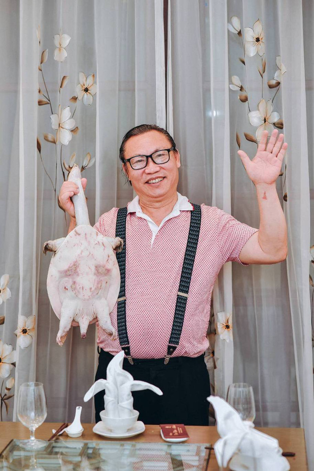 Ông Tiến – chủ nhà hàng Tân Tiến Ba Ba.