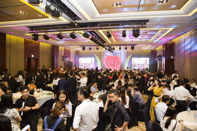 Gần 300 khách hàng đã đến tham dự lễ giới thiệu dự án Rosita Garden diễn ra vào ngày 20/8/2017.