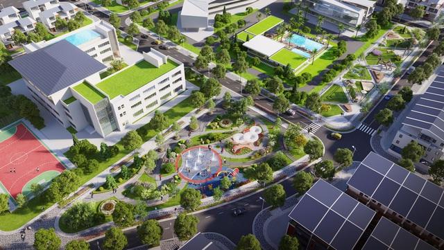 Không gian sống xanh theo tiêu chuẩn resort.