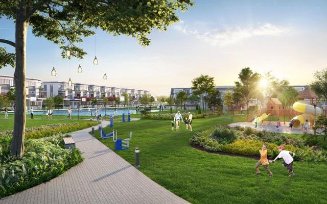 Lovera Park nổi bật với không gian sống xanh và hệ thống tiện ích kiểu mẫu.