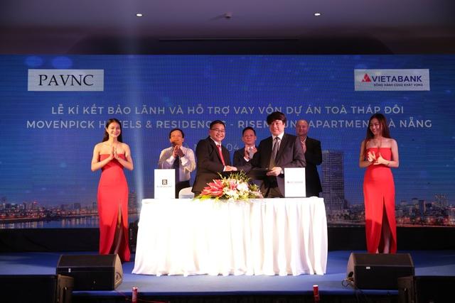 Ngân hàng TMCP Việt Á sẽ bảo lãnh và hỗ trợ vay vốn cho dự án Tháp đôi Movenpick – Risemount Da Nang.