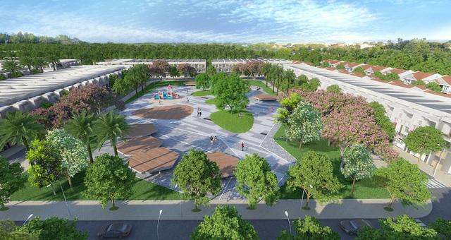 Western City định hướng thành khu đô thị kiểu mẫu với mật độ cây xanh và tiện ích lên tới 60%.