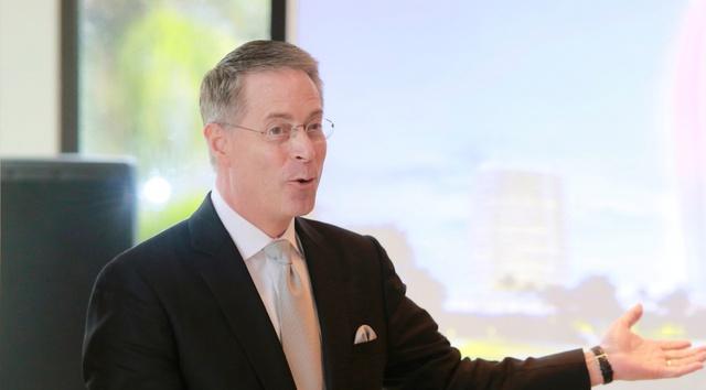 Ông Kevin J Beauvais, Giám đốc điều hành Mai House Hội An Luxury Golf and Resort.