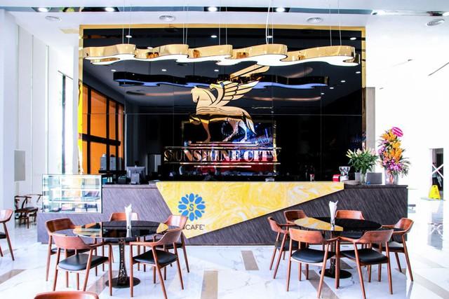 S-café – Không gian thư giãn, nghỉ ngơi dành cho cư dân của Sunshine City.