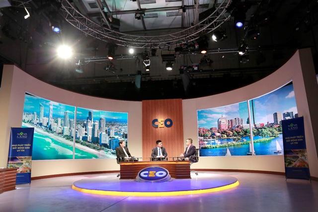 CEO Đinh Văn Lộc tham gia chương trình CEO – Chìa khoá thành công. (Chương trình do Đài Truyền hình Việt Nam phối hợp với Hoàng Gia Media Group và tập đoàn Novaland thực hiện).