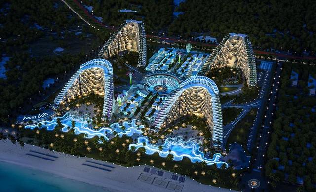 Dự án Condotel thứ hai của Vịnh Nha Trang kết hợp vui chơi và nghỉ dưỡng có tính cùng đồng Thứ nhất ở Bãi Dài Cam Ranh.