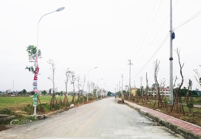 Hệ thống các con phố giao thông, đèn chiếu sáng dự án TNR Stars Đồng Văn căn bản đã đã đi vào hoạt động 100%.