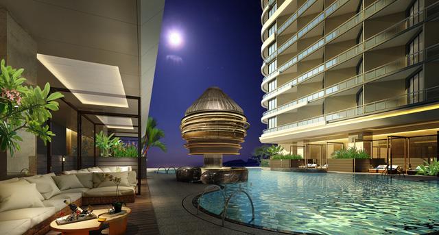 Chất lượng dự án Swisstouches La Luna Resort được chắc chắn bởi nhiều nhân tố ngoại: đơn vị quản lý Thuỵ Sĩ, doanh nghiệp kiến trúc Hong Kong.