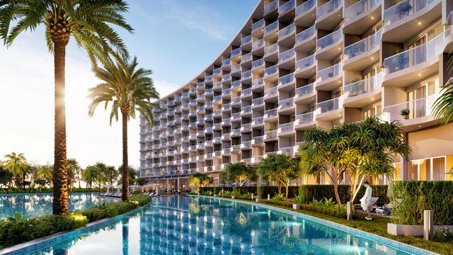"""329 căn hộ cao tầng nghỉ dưỡng ở Mövenpick Resort Waverly Phú Quốc được giả dụ """"hàng hiệu khó tìm""""."""
