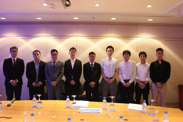 Tập đoàn Nhật sang thăm quan và trao đổi hợp tác với Haseca.