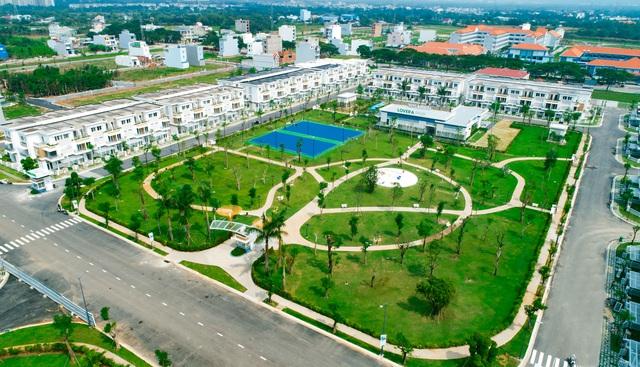 Không gian sống xanh tại Lovera Park.