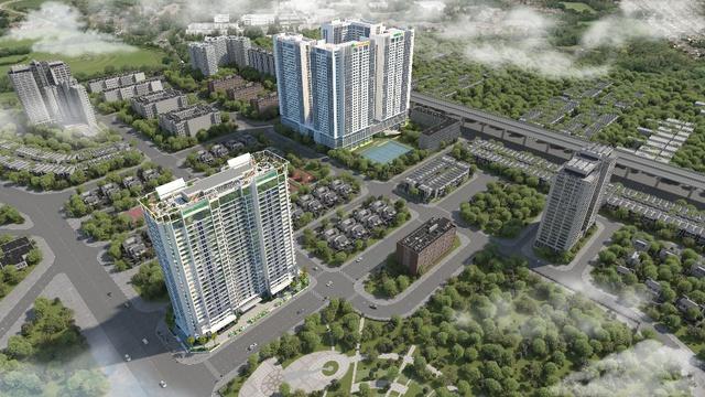 Eco Dream thuộc khu đô thị Tây Nam Kim Giang, Nguyễn Xiển, Hà Nội.
