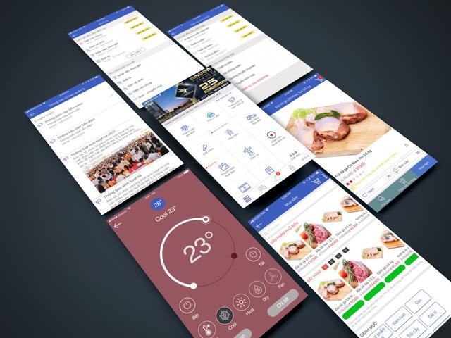 Ứng dụng App Sunshine Home mang tới nhiều tính năng tiện lợi cho các cư dân.