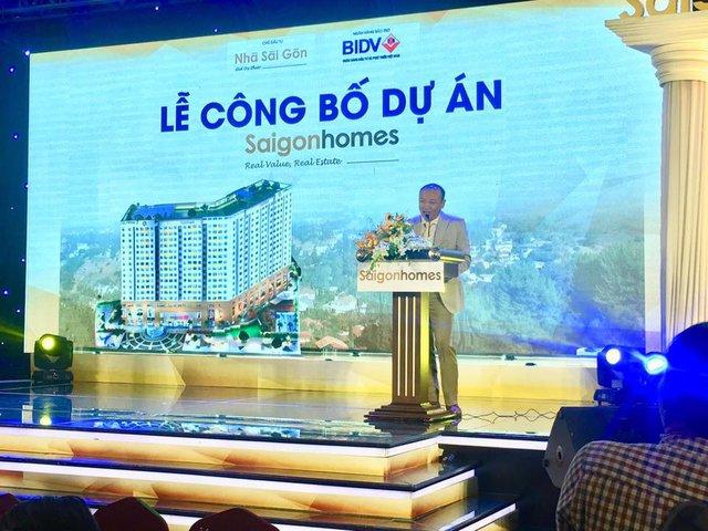 Công bố dự án căn hộ Saigonhomes tại quận Bình Tân...