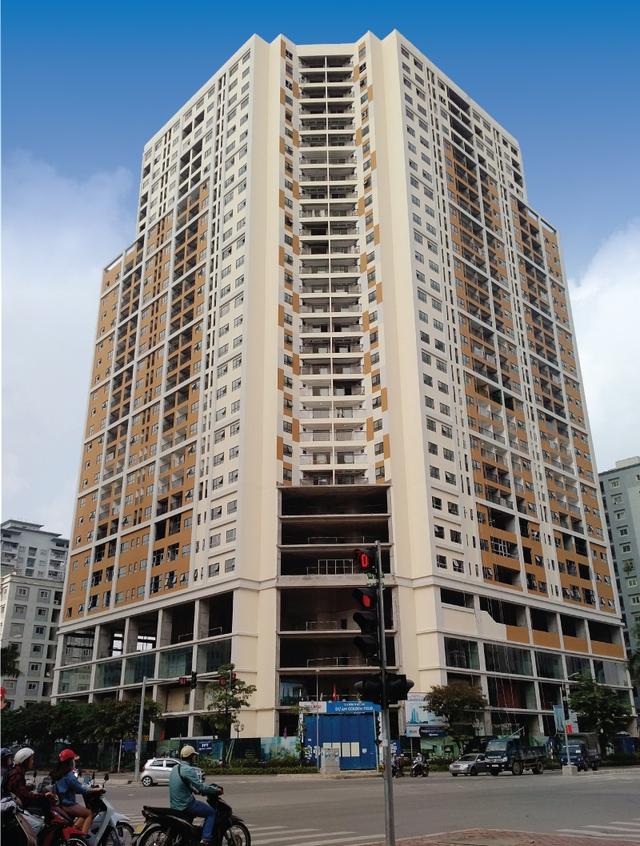 Vị trí dự án nằm ngay ngã tư Hàm Nghi – Nguyễn Cơ Thạch.